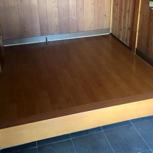 玄関床リフォーム