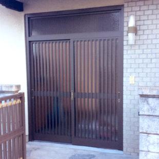 玄関ドア取替